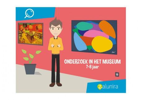 Onderzoek in het Museum - 7-8 jaar