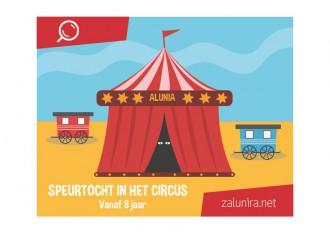 Speurtocht in het circus - vanaf 8 jaar