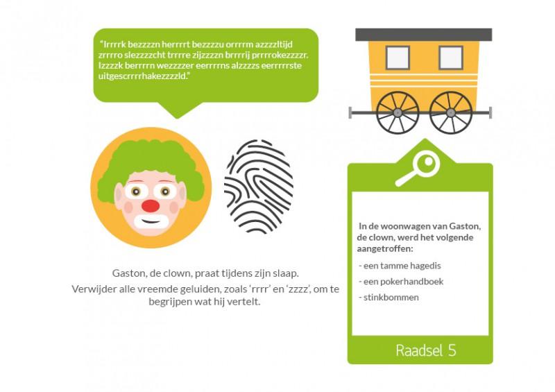 Top Speurtocht in het circus - vanaf 8 jaar - Zalunira Nederlands #IQ18