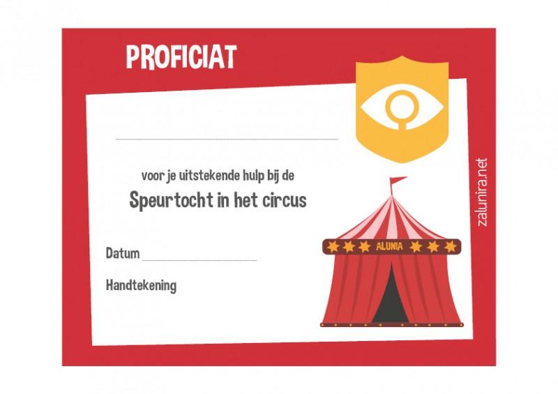 Fabulous Speurtocht in het circus - vanaf 8 jaar - Zalunira Nederlands &DK59