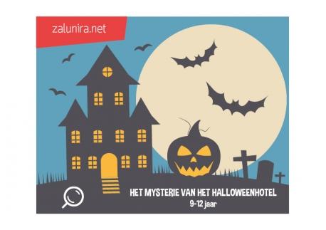Het Mysterie van het Halloweenhotel - 9-12 jaar